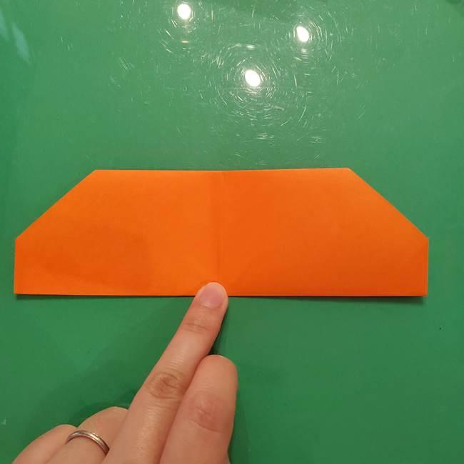 鮭の折り紙の折り方作り方①身(8)