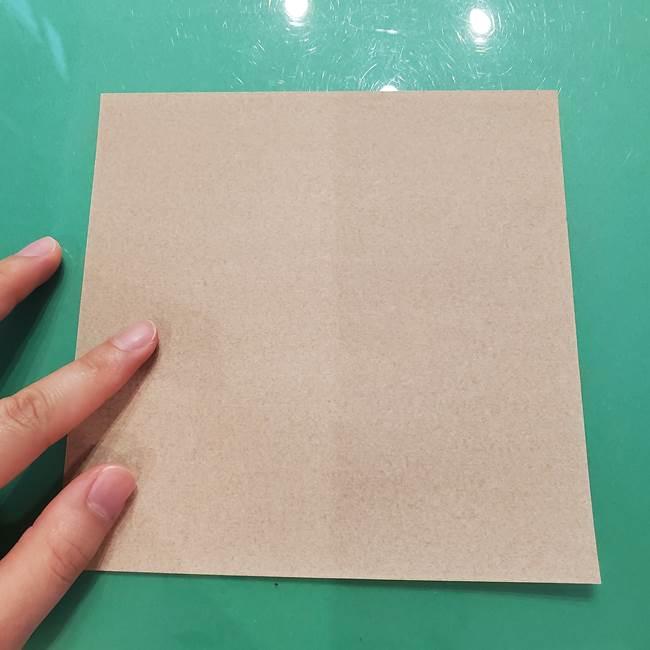 鮭の折り紙の折り方作り方②皮(1)