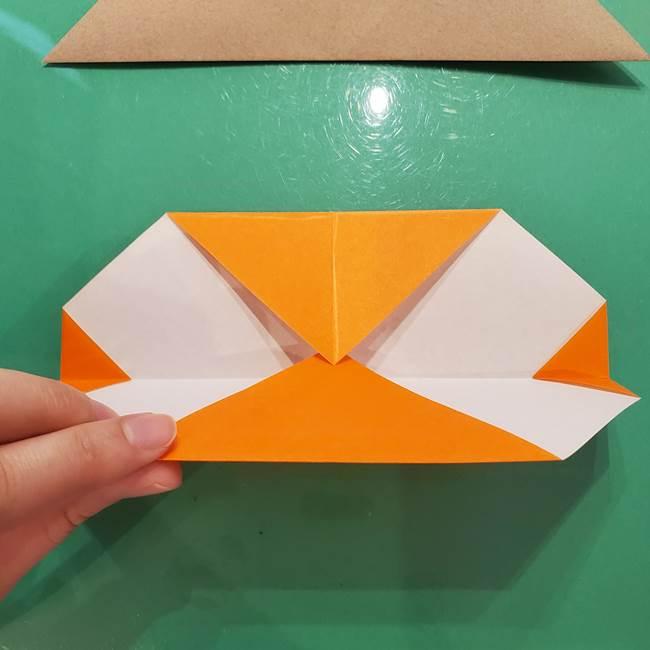 鮭の折り紙の折り方作り方③組み合わせ(1)