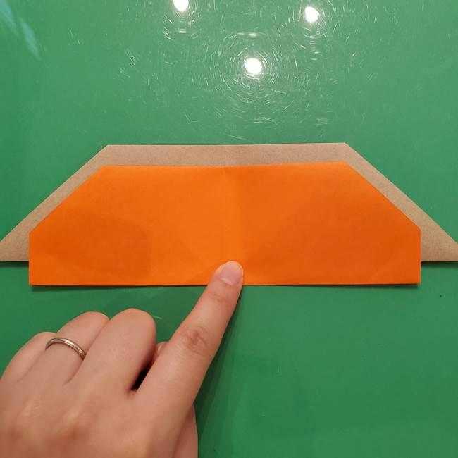 鮭の折り紙の折り方作り方③組み合わせ(2)