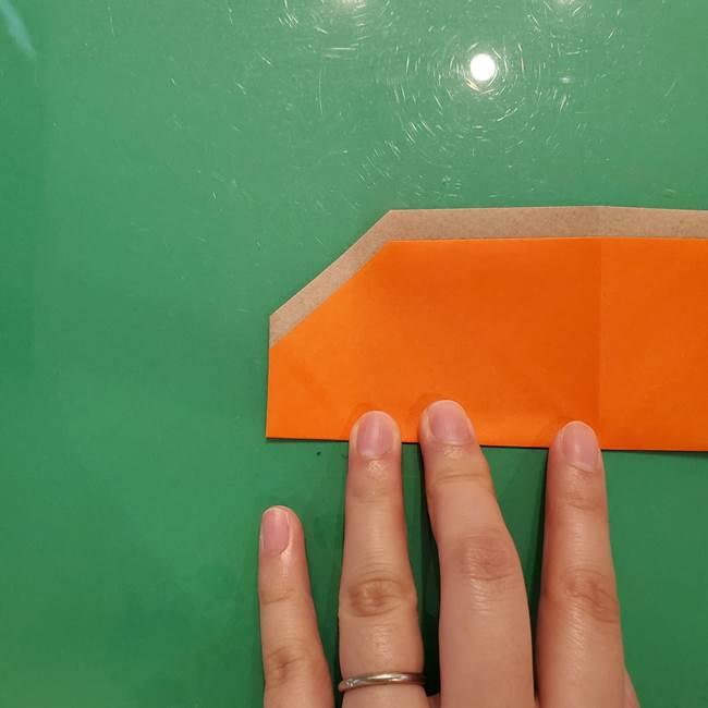 鮭の折り紙の折り方作り方③組み合わせ(4)