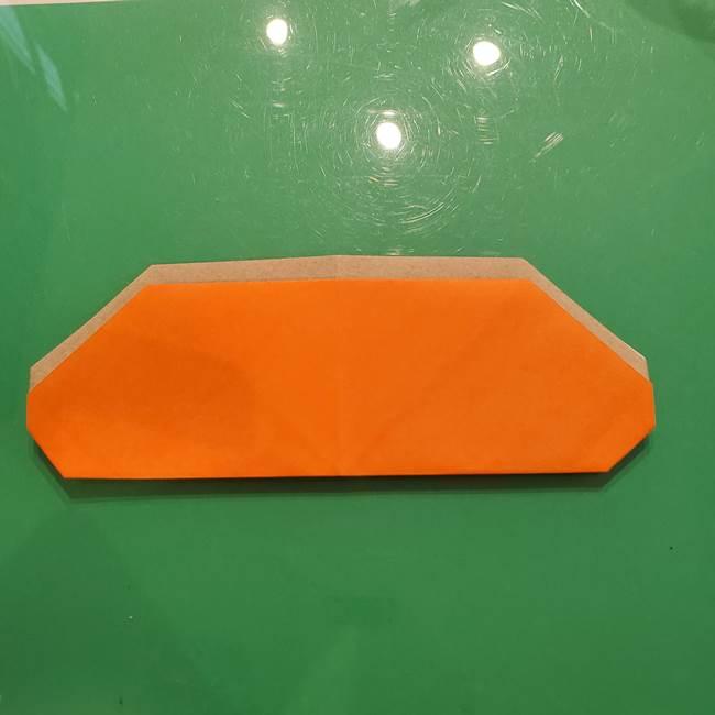 鮭の折り紙の折り方作り方③組み合わせ(6)