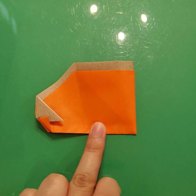 鮭の折り紙の折り方作り方③組み合わせ(7)
