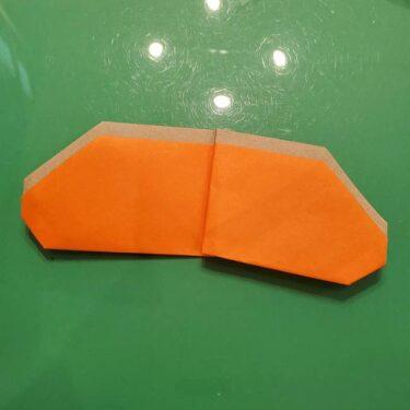 鮭の折り紙の折り方作り方★魚のリアルな切り身を簡単手作り!ままごとにも