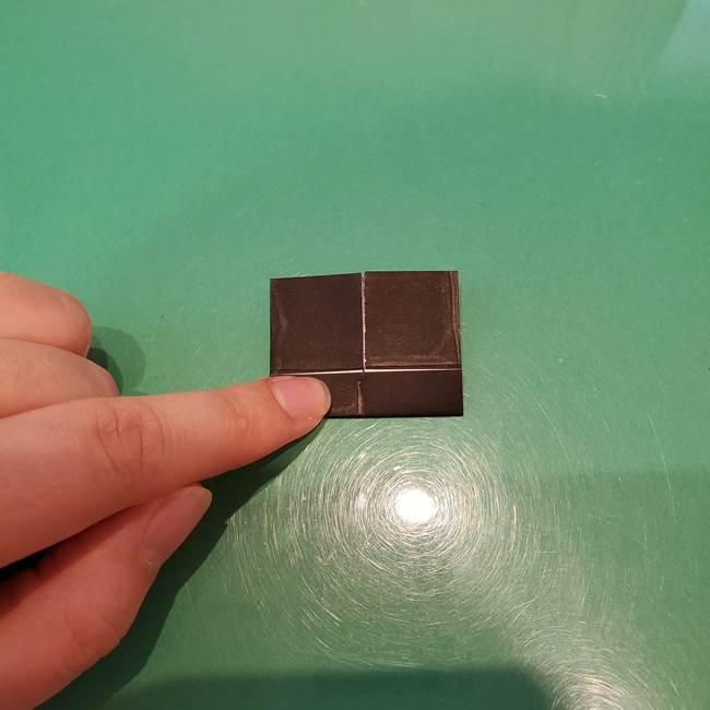 かぼちゃミッキーの折り紙*折り方作り方②帽子(11)