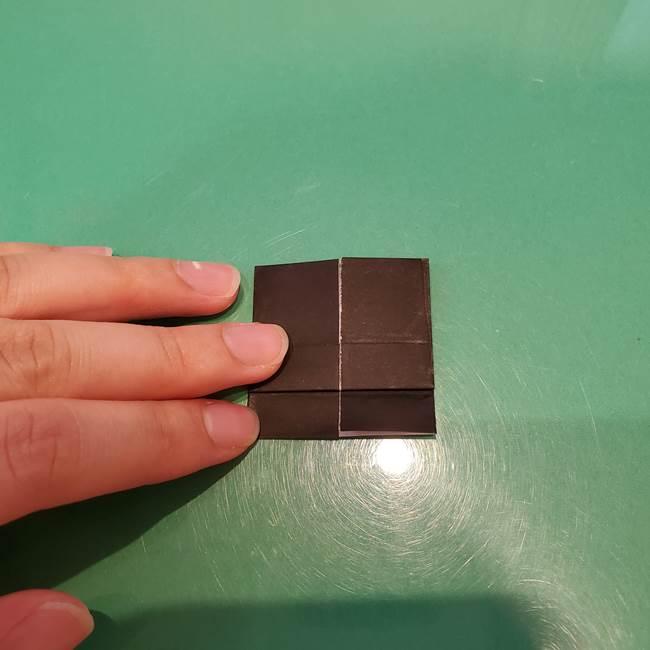 かぼちゃミッキーの折り紙*折り方作り方②帽子(12)