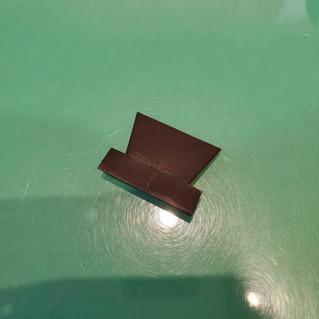かぼちゃミッキーの折り紙*折り方作り方②帽子(18)