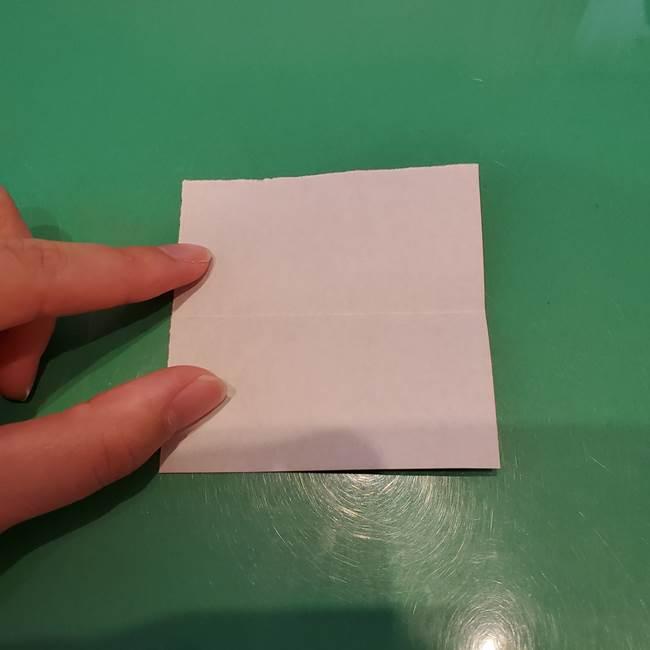 かぼちゃミッキーの折り紙*折り方作り方②帽子(3)