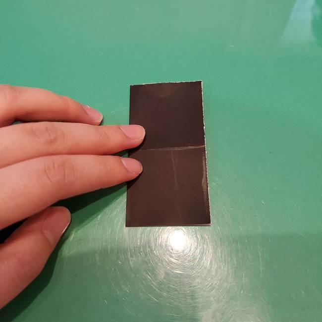かぼちゃミッキーの折り紙*折り方作り方②帽子(4)