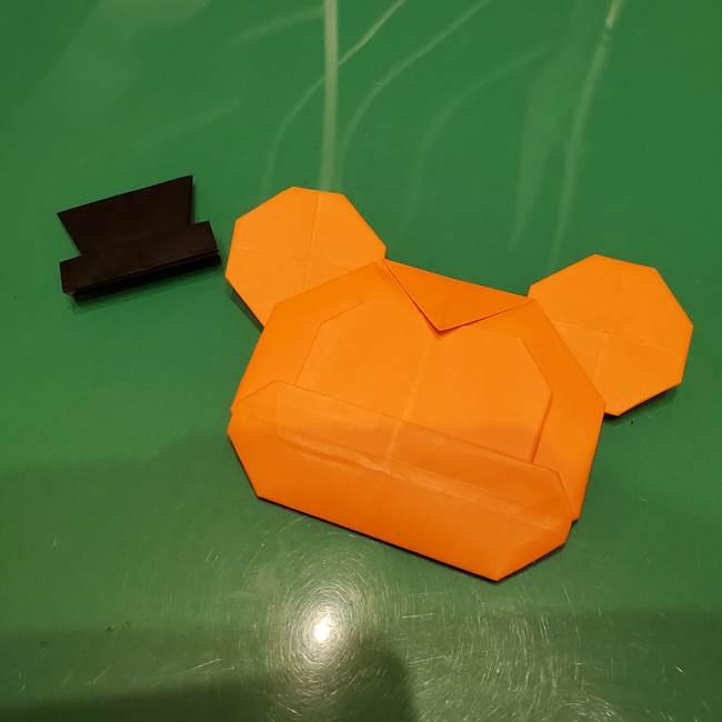 かぼちゃミッキーの折り紙*折り方作り方③完成(1)