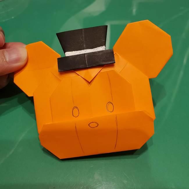 かぼちゃミッキーの折り紙*折り方作り方③完成(3)