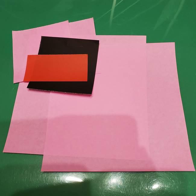 ツムツムかぼちゃミニーの折り紙(1)