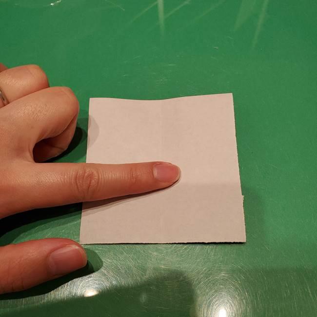 ツムツム かぼちゃミニーの折り紙の折り方作り方②帽子(3)