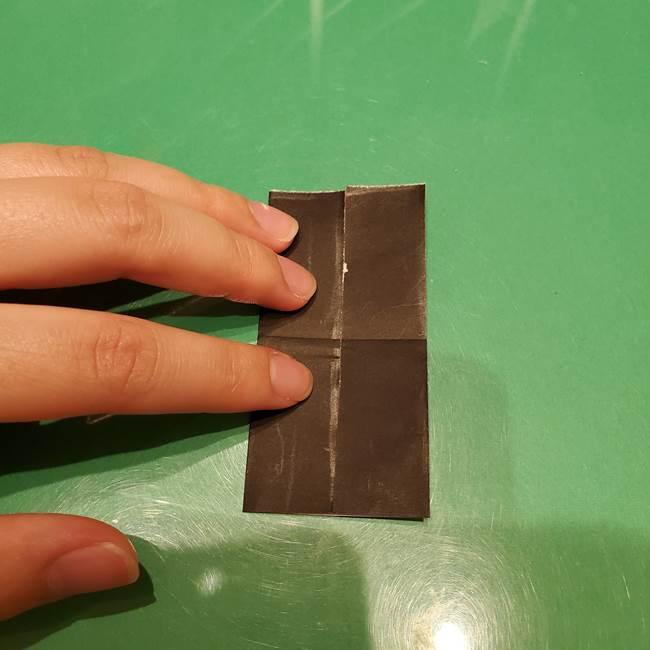 ツムツム かぼちゃミニーの折り紙の折り方作り方②帽子(6)