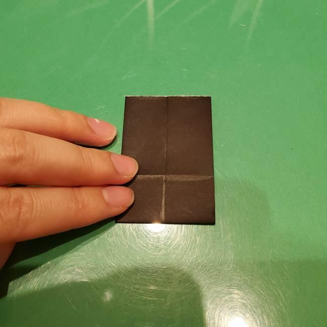 ツムツム かぼちゃミニーの折り紙の折り方作り方②帽子(8)