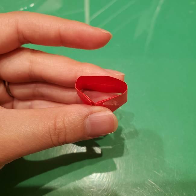 ツムツム かぼちゃミニーの折り紙の折り方作り方③リボン(10)