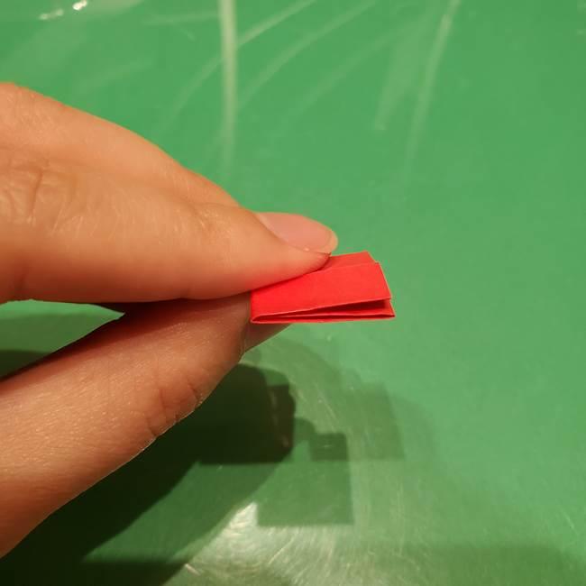 ツムツム かぼちゃミニーの折り紙の折り方作り方③リボン(11)