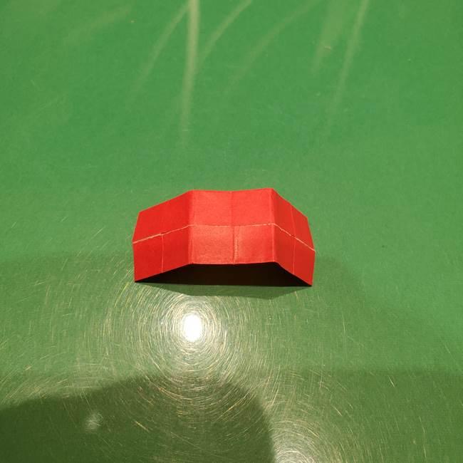 ツムツム かぼちゃミニーの折り紙の折り方作り方③リボン(12)