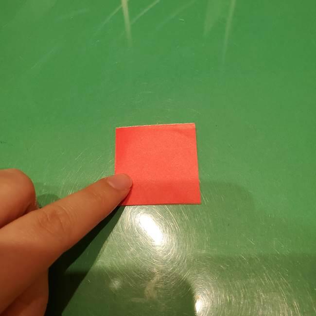 ツムツム かぼちゃミニーの折り紙の折り方作り方③リボン(2)