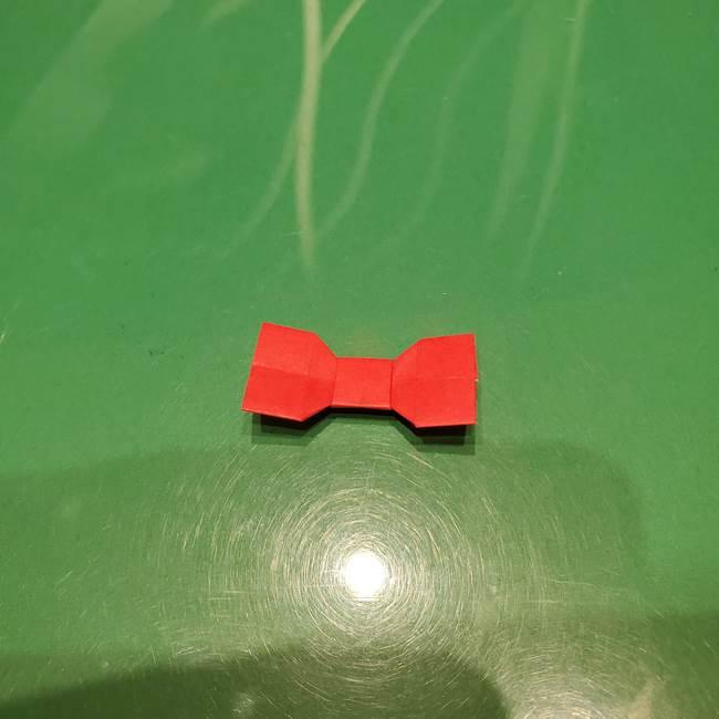 ツムツム かぼちゃミニーの折り紙の折り方作り方③リボン(21)
