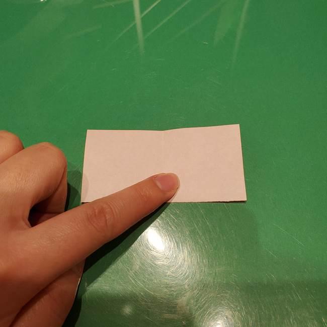 ツムツム かぼちゃミニーの折り紙の折り方作り方③リボン(3)