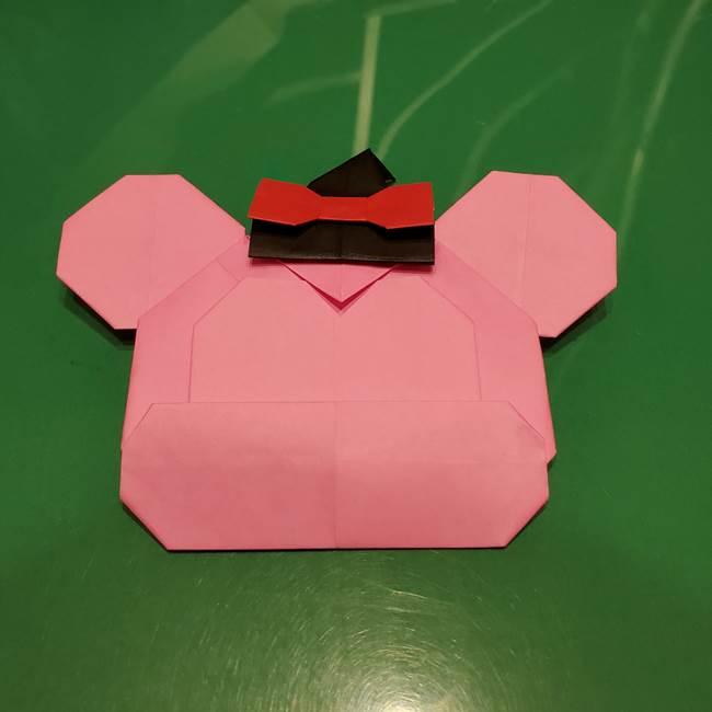ツムツム かぼちゃミニーの折り紙の折り方作り方④完成(2)