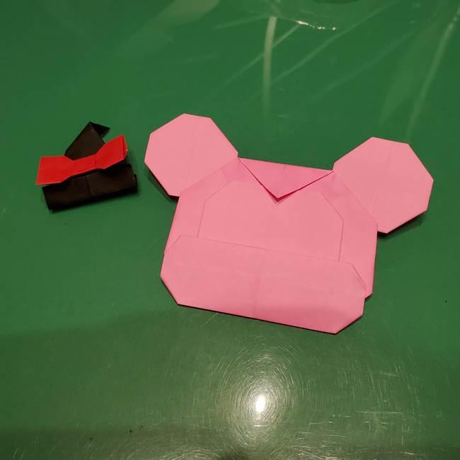 ツムツム かぼちゃミニーの折り紙の折り方作り方(3)