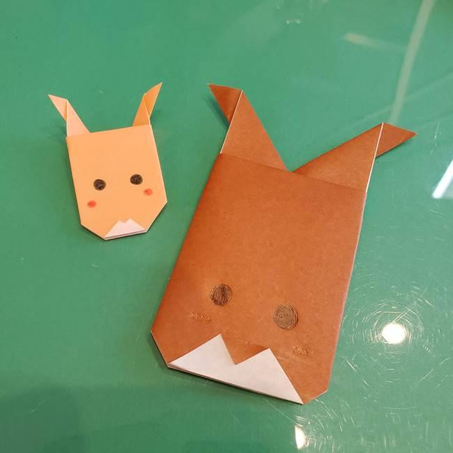トナカイの折り紙 簡単で3歳児保育でもできる折り方作り方★クリスマス制作に♪
