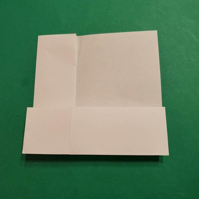 ミニーちゃんのリボンの折り紙 折り方作り方 (16)