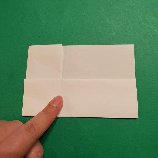 ミニーちゃんのリボンの折り紙 折り方作り方 (17)
