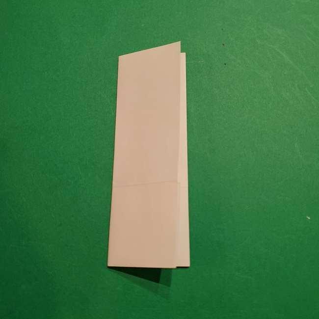 ミニーちゃんのリボンの折り紙 折り方作り方 (19)