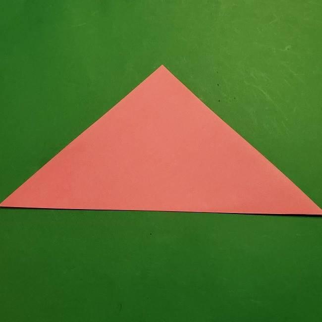 ミニーちゃんのリボンの折り紙 折り方作り方 (2)
