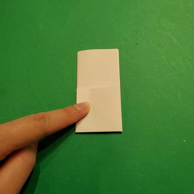 ミニーちゃんのリボンの折り紙 折り方作り方 (20)