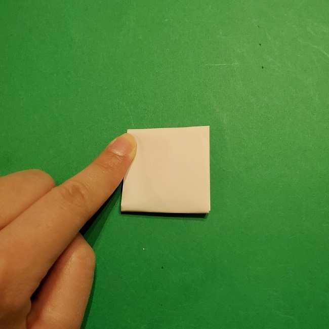 ミニーちゃんのリボンの折り紙 折り方作り方 (21)