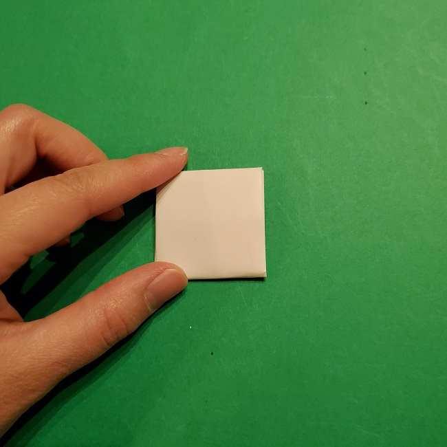 ミニーちゃんのリボンの折り紙 折り方作り方 (23)
