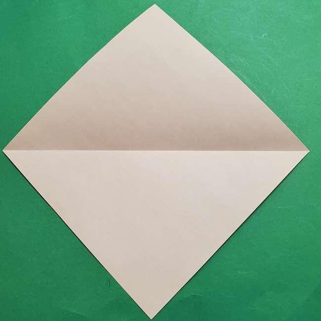ミニーちゃんのリボンの折り紙 折り方作り方 (3)
