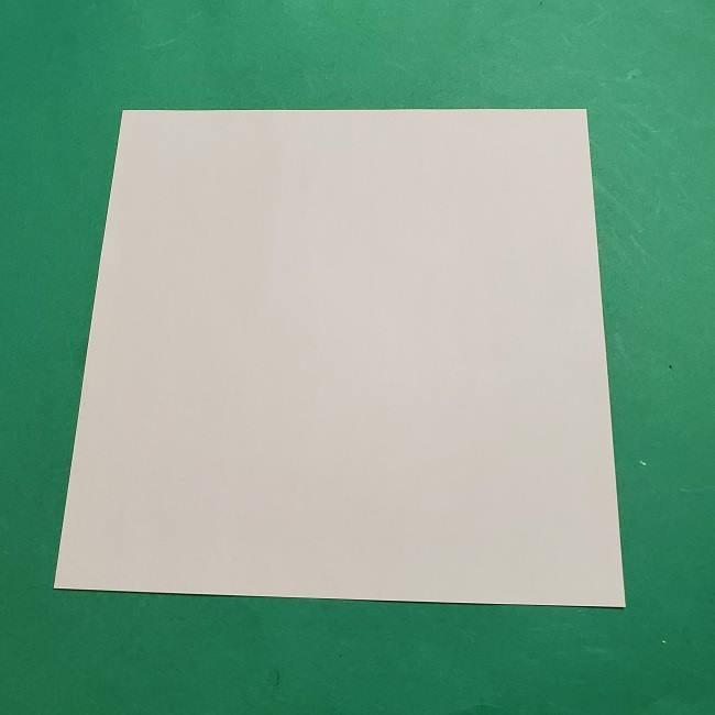 ミニーちゃんのリボンの折り紙 折り方作り方 (9)