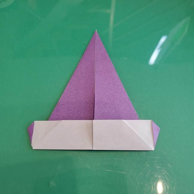 三角帽子の折り方作り方(11)