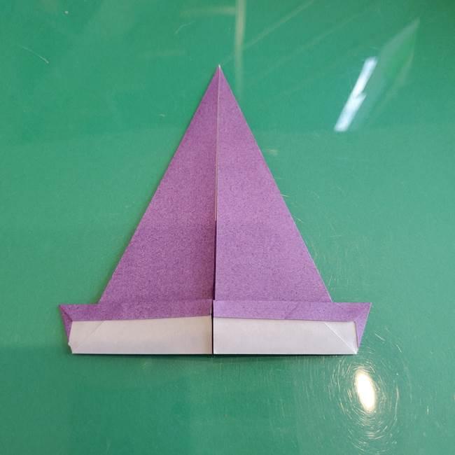 三角帽子の折り方作り方(12)