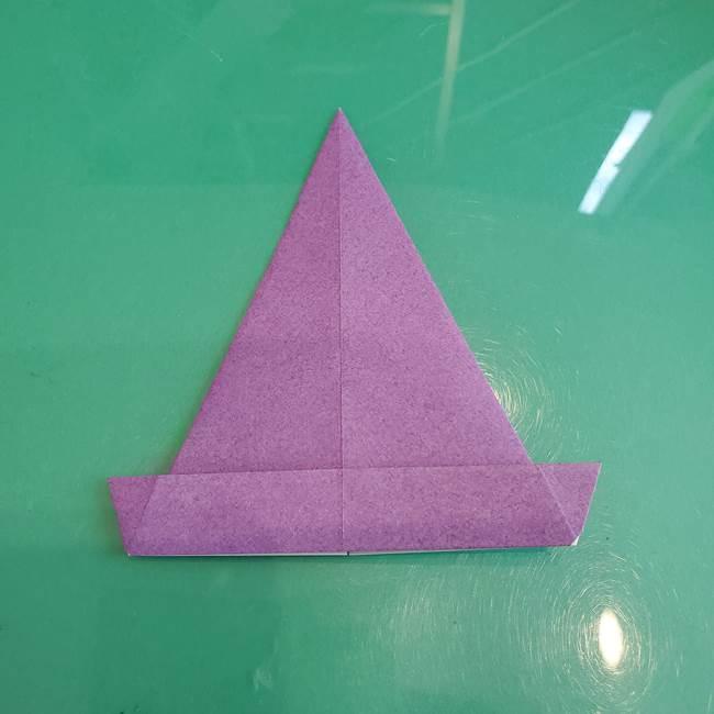 三角帽子の折り方作り方(13)
