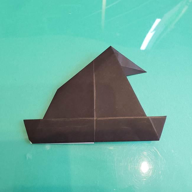 三角帽子の折り方作り方(15)