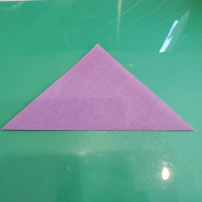 三角帽子の折り方作り方(2)