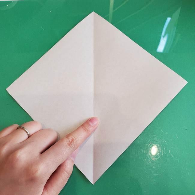 三角帽子の折り方作り方(3)