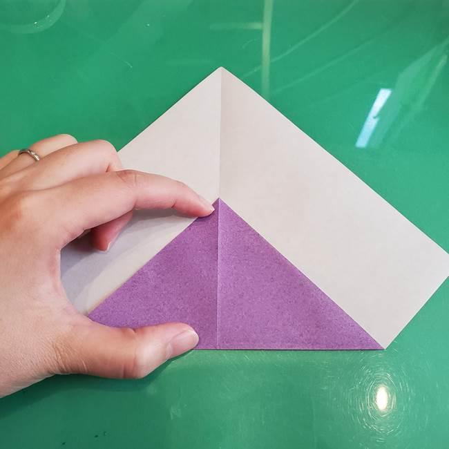 三角帽子の折り方作り方(4)