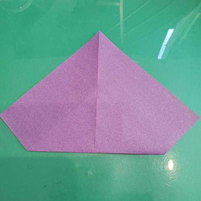 三角帽子の折り方作り方(5)