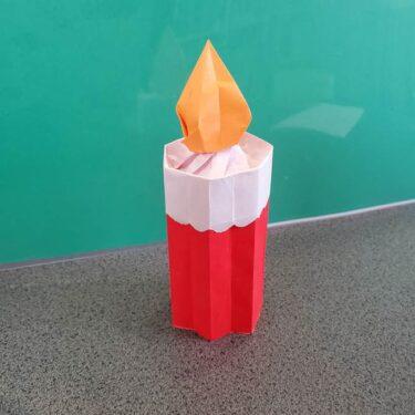 折り紙でろうそくを立体的につくる折り方は簡単?作り方を画像つきで紹介!