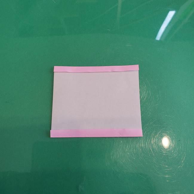 折り紙で飴を立体的につくる折り方作り方(2)