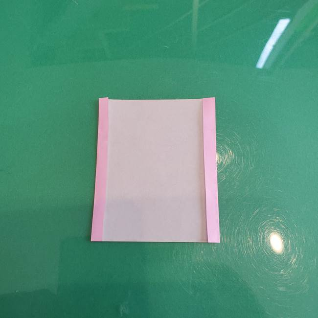折り紙で飴を立体的につくる折り方作り方(3)