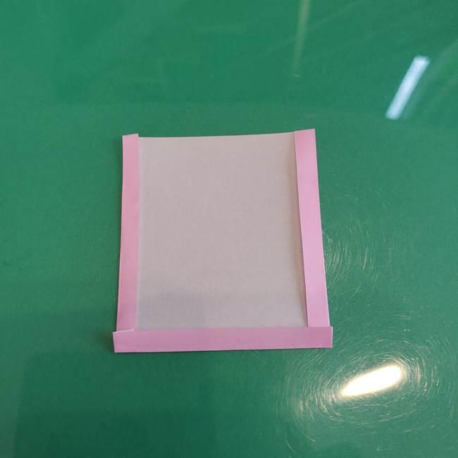 折り紙で飴を立体的につくる折り方作り方(4)