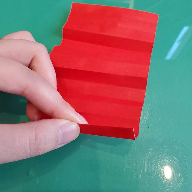 折り紙のろうそく 立体的な折り方作り方【画像】①土台1(10)